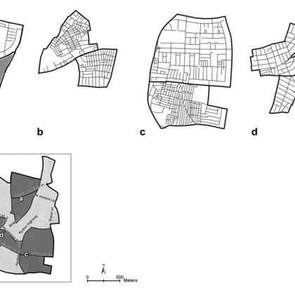 Types of spatial partitions relevant to socio-economic differentiation
